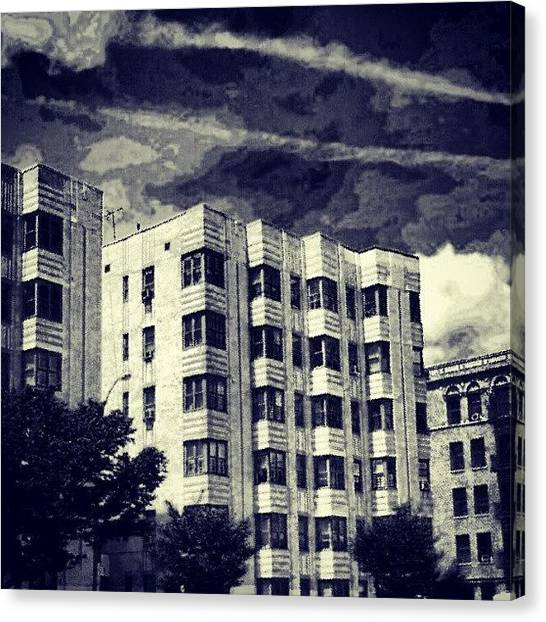 Art Deco Canvas Print - #art #deco #bronx #style #architecture by Radiofreebronx Rox