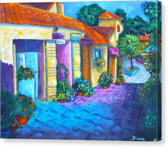 Artist Village Canvas Print