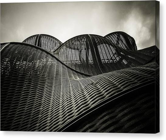 Artistic Curves Canvas Print