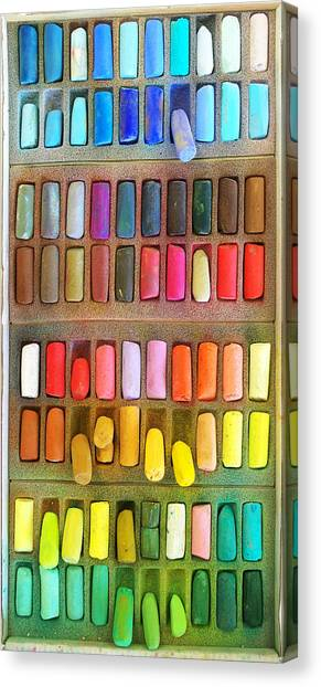 Artists Rainbow Canvas Print
