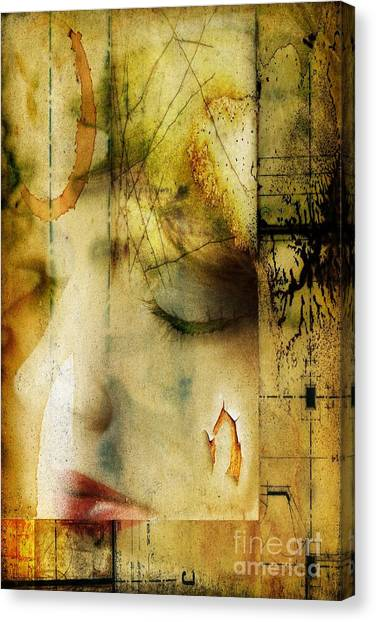 Artsy Girl Canvas Print by David Taylor