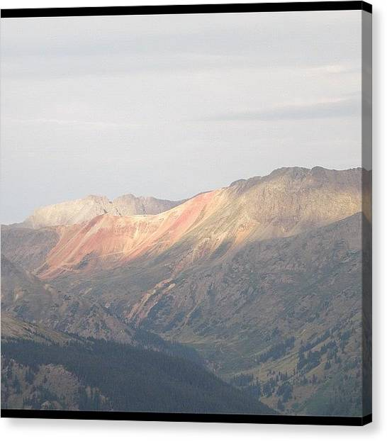 Rocky Mountains Canvas Print - As You May Be Able To Tell, I'm Not by James Sibert