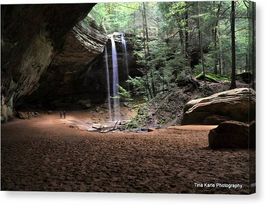 Ash Cave Canvas Print by Tina Karle