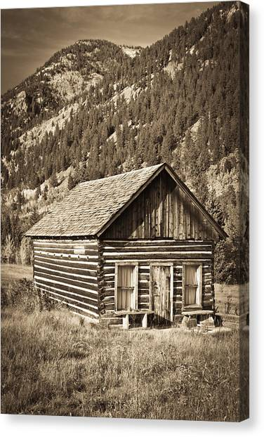 Ashcroft Ghost Town Canvas Print