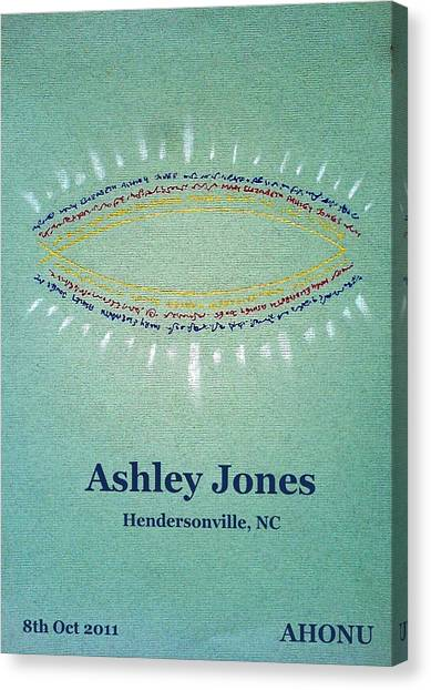 Ashley Jones Canvas Print