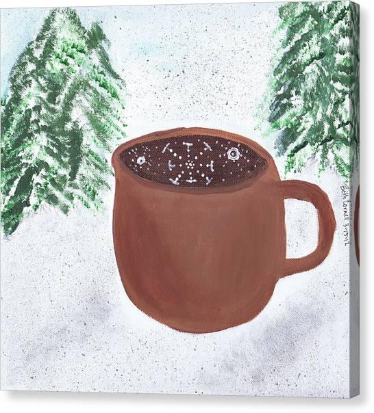 Aspen Cup Canvas Print