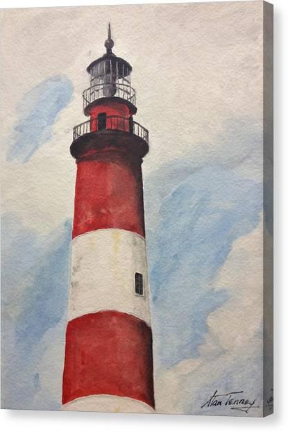 Assateague Lighthouse  Canvas Print
