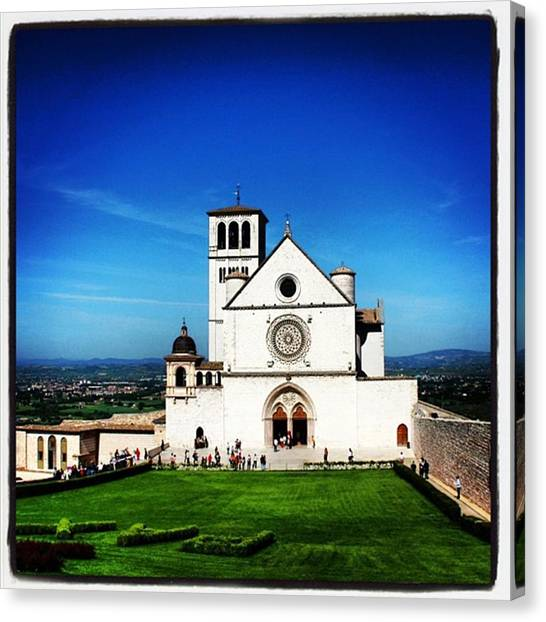 Italy Canvas Print - Assisi by Luisa Azzolini