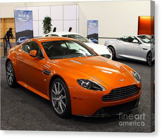 Aston Martin Db9 . 7d9624 Canvas Print by Wingsdomain Art and Photography