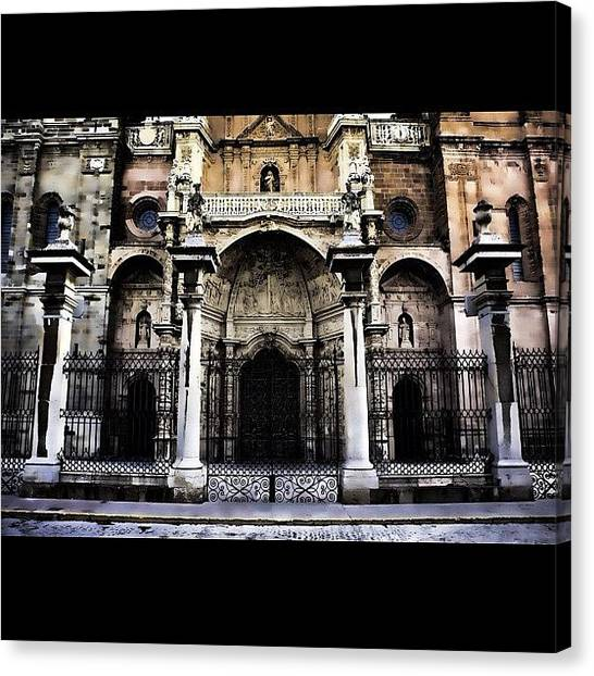Video Games Canvas Print - Astorga, Cathedral by Giuseppe Anello