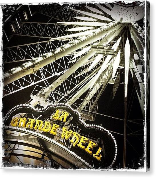 Rodeos Canvas Print - At The Fair #2 by Nathalie Brouard