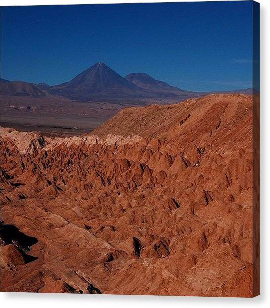 Atacama Desert Canvas Print - Atacama Desert by Ursula Marcondes