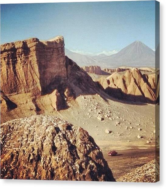 Atacama Desert Canvas Print - #atacama #desiertodeatacama #desierto by New Photo
