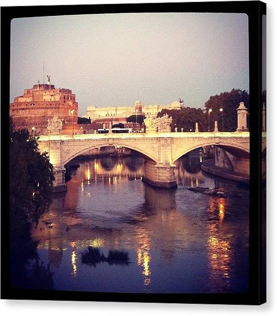 Rome Canvas Print - Atardecer by Marce HH