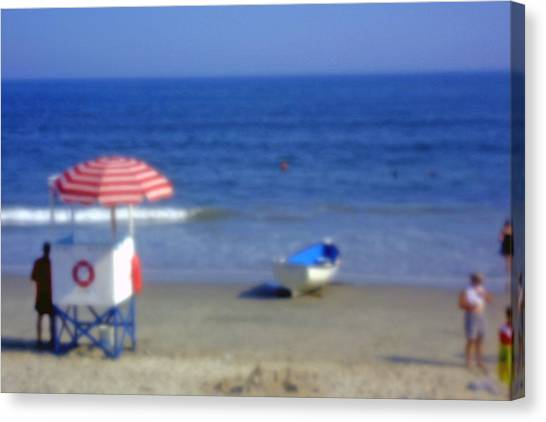 Atlantic City Lifeguard Station Canvas Print