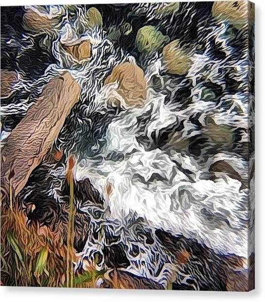 Impressionism Canvas Print - Atlantic Meets Land! #shockmypic #sea by Robert Campbell