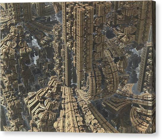 Science Fiction Canvas Print - Atlantis by Jacob Bettany