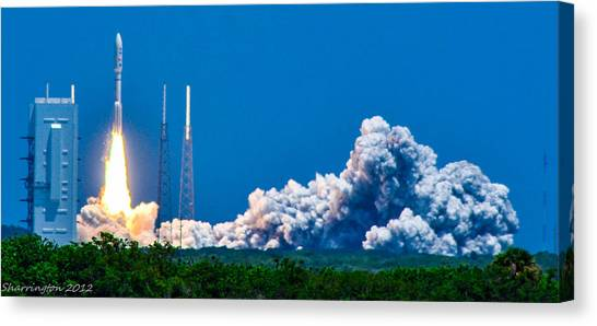 Atlas Launch Canvas Print