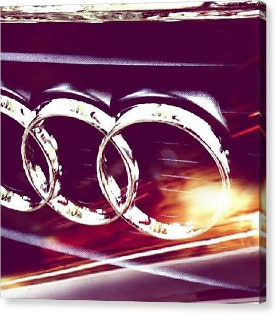 Audi Canvas Print - #audi #a4 #a6 #a5 #a6 #a7 #a8 #r8 #rs4 by Zack Martin