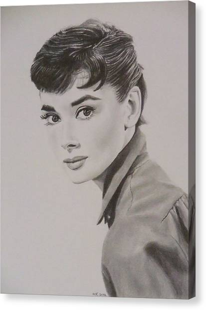 Audrey Canvas Print by Mike OConnell