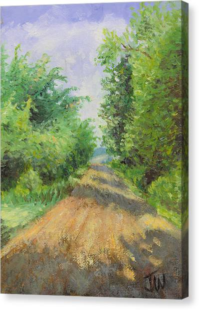 August Lane Canvas Print