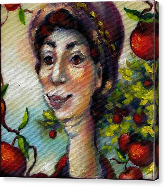 Aunt Berta Canvas Print