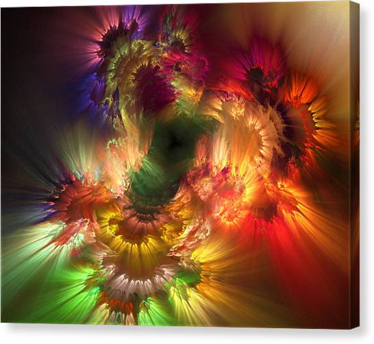 Auras Emotional Reflections Canvas Print