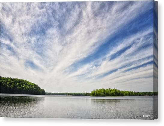 Canvas Print - Ausable River On A Summers Day by Peg Runyan