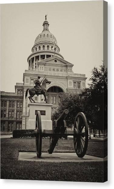 Austin Capitol Canvas Print