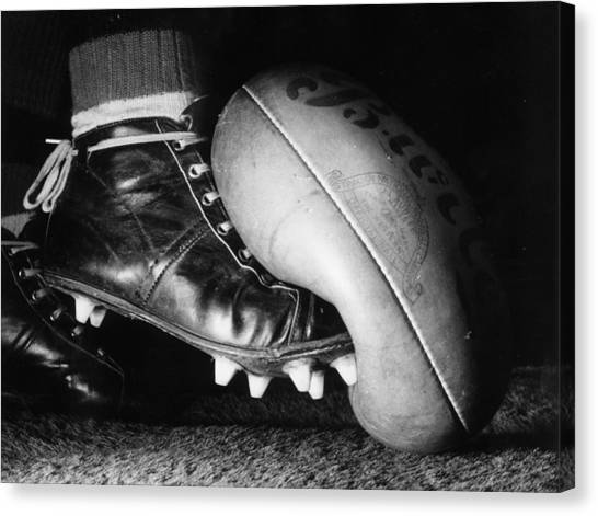 Australian Rules Canvas Print by Central Press