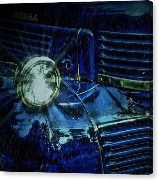 Dodge Canvas Print - #autography #dodge #vintage #cars by Vanessa C