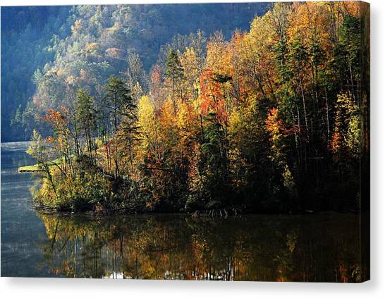 Autumn At Jenny Wiley Canvas Print