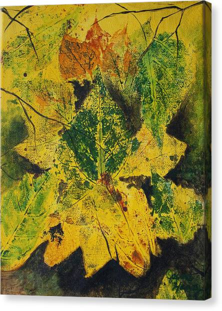 Autumn Boquet Canvas Print