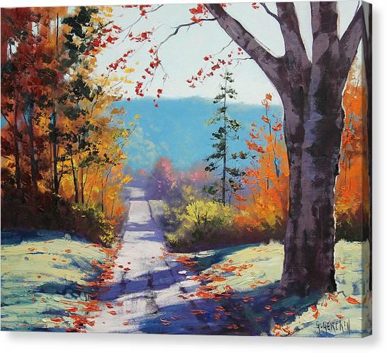Aspen Forest Canvas Print - Autumn Delight by Graham Gercken