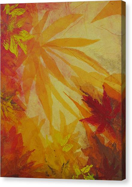 Autumn Essence Canvas Print