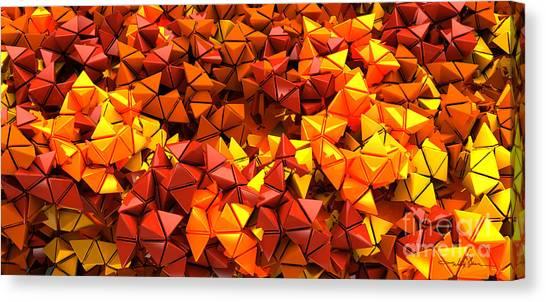 Autumn Hedron 6028 Canvas Print
