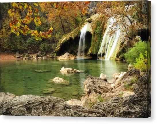 Autumn In Turner Falls Canvas Print