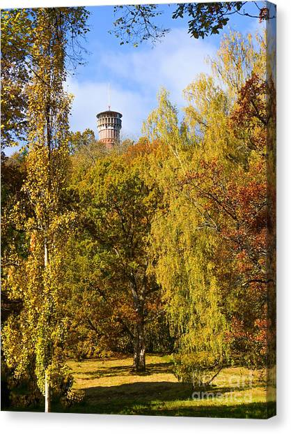 Colorplay Canvas Print - Autumn Lookout by Lutz Baar