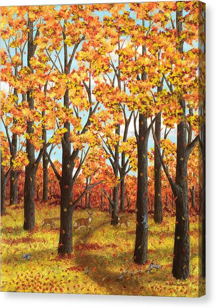 Autumn Meadow Canvas Print