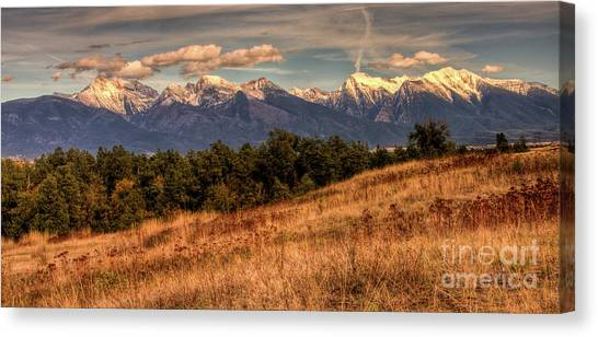 Autumn Mission Canvas Print by Katie LaSalle-Lowery