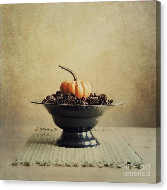 Pumpkins Canvas Print - Autumn by Priska Wettstein