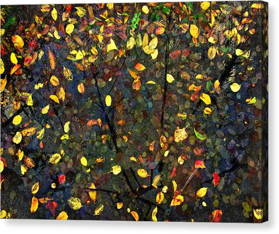 Autumn Reconstructed Canvas Print