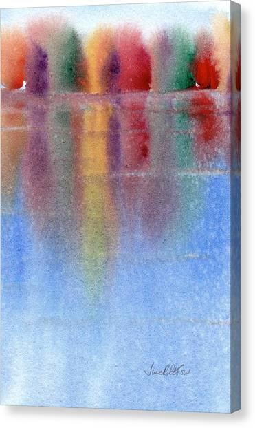 Autumn Reflections No. 1 Canvas Print