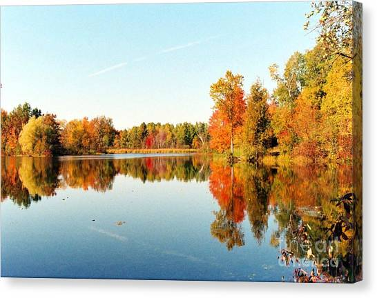 Autumn Splendor Canvas Print by Crissy Sherman