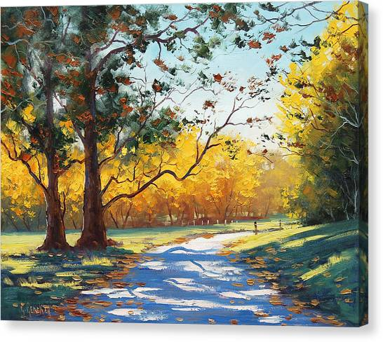 Maple Tree Canvas Print - Autumn Splendor by Graham Gercken