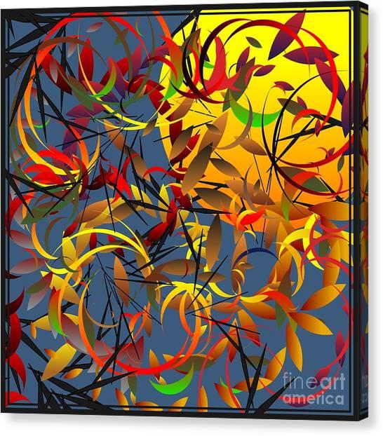 Autumn Wind 2012 Canvas Print