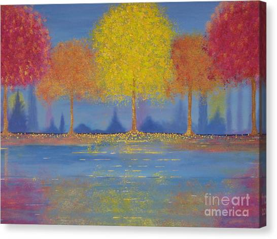 Autumn's Bliss Canvas Print