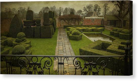 Avebury Manor Topiary Canvas Print
