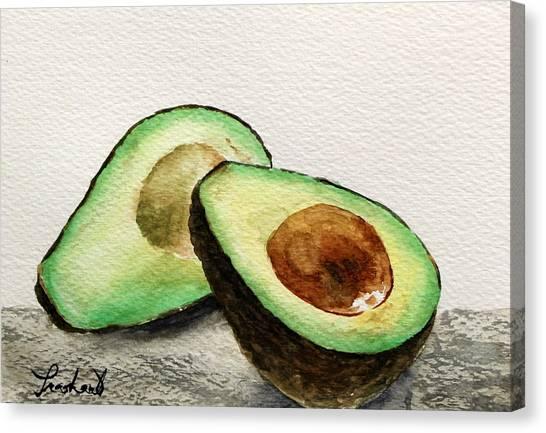 Avocado Canvas Print by Prashant Shah