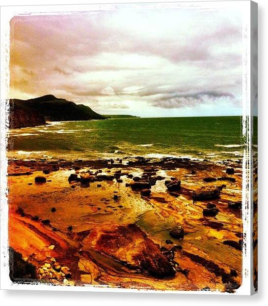 Saints Canvas Print - Awash #iphoneography #sydneycommunity by Kendall Saint